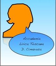 """Logo dell'Accademia Lirica Toscana """"Domenico Cimarosa"""""""