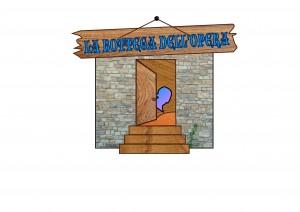 """Logo de """"La bottega dell'opera"""" edizione 2014"""
