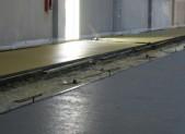 Realizzazione di pavimento di calcestruzzo