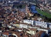 Vista aerea di Prato