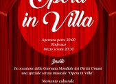 Opera in villa