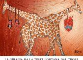 La giraffa ha la testa lontanta dal cuore 2018