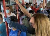 Spray peperoncino autisti bus