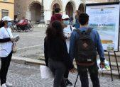 Volontari La via della felicità con Albo D'Onore a Fano