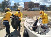 Volontari in azione per la giornata